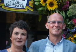 Jan en Astrid Koopman 25 jaar getrouwd!