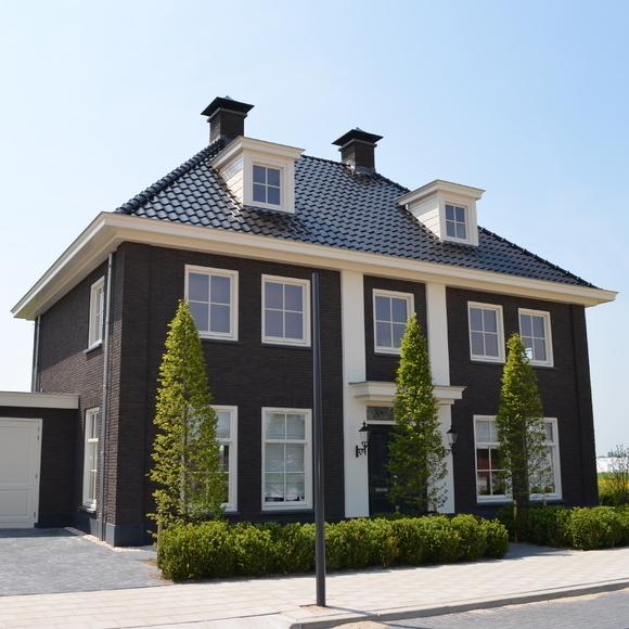 Notariswoning projecten braas elektro - Modern stenen huis ...